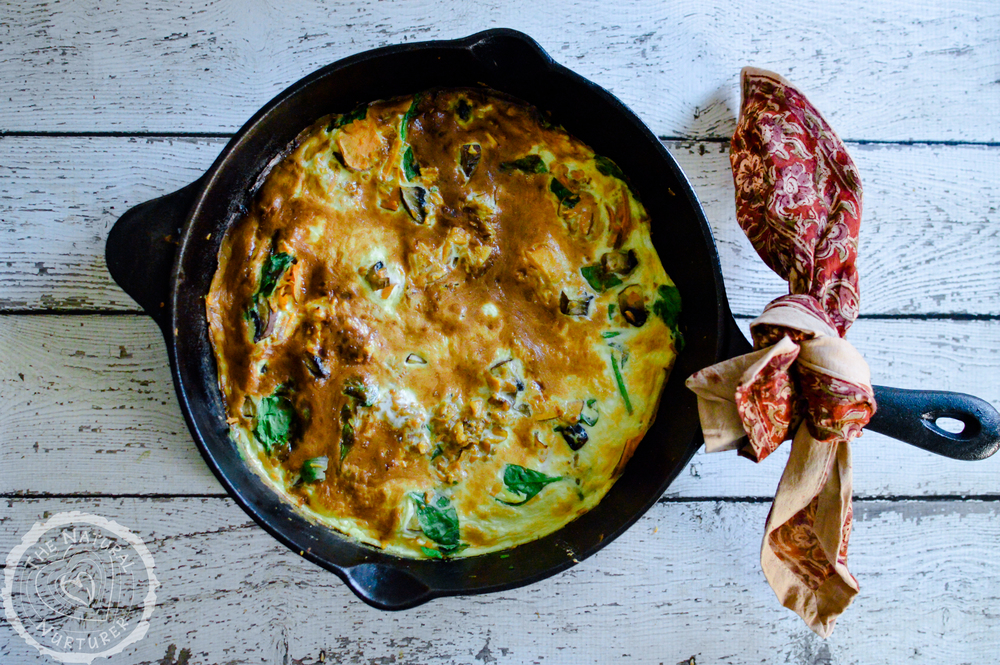 Sweet Potato Veggie Frittata