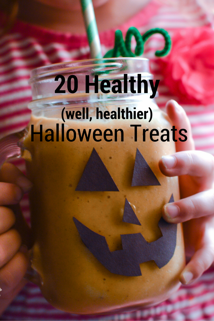 20 Healthy Halloween Treats