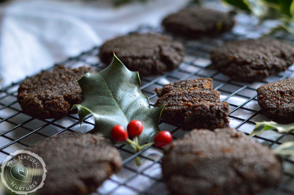 Grain-Free Gingerbread Cookies