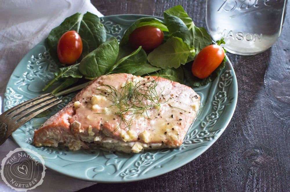 Roasted Honey Mustard Salmon