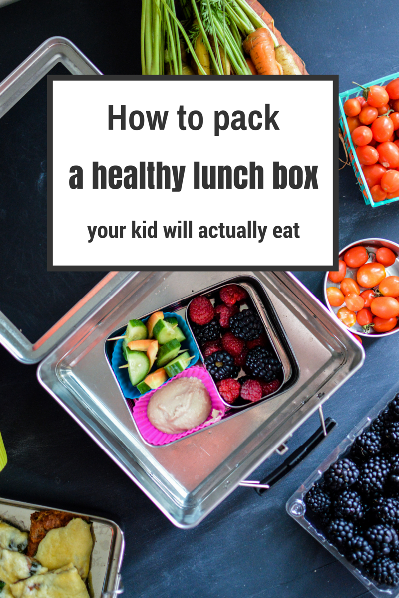 Tips for Packing a Healthy Lunch Box