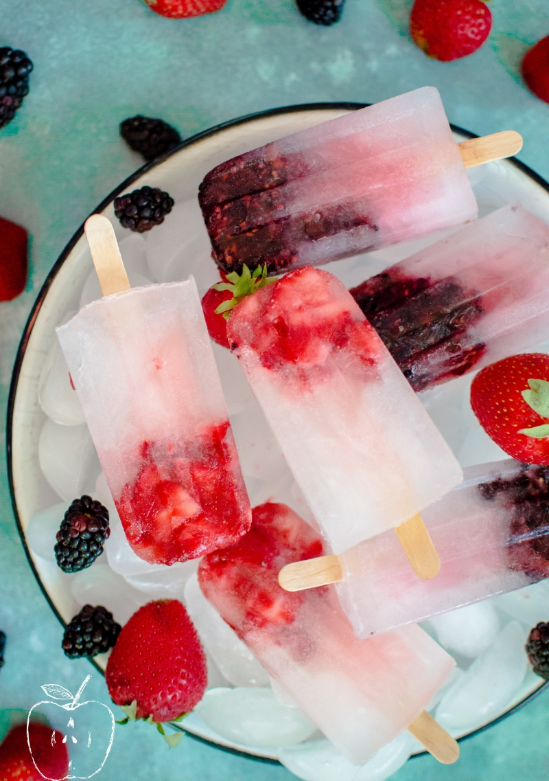 Rehydrating Berry Ice Pops