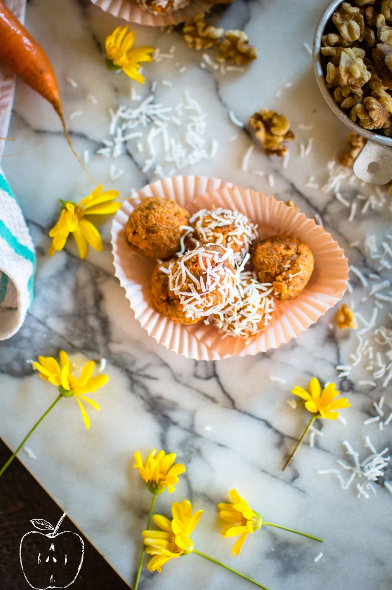 Carrot Cake Batter Bites (raw)