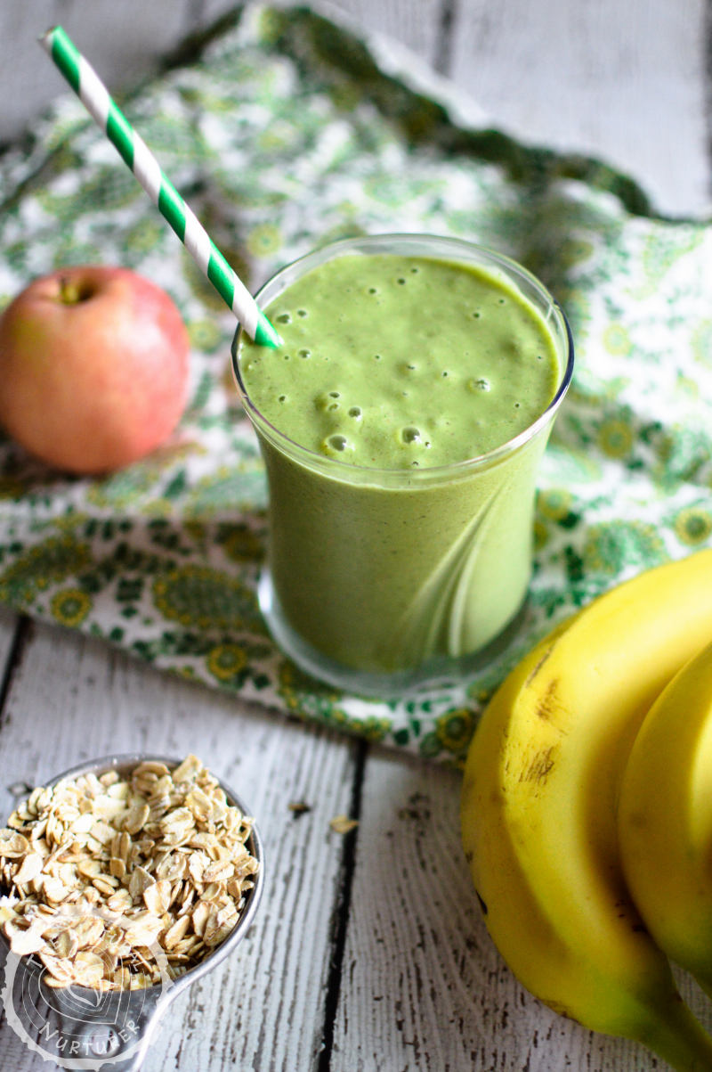 Power-Up Green Smoothie by The Natural Nurturer