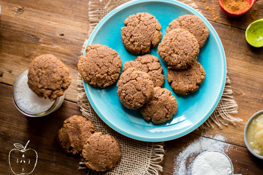 Soft Paleo Apple Cinnamon Cookies