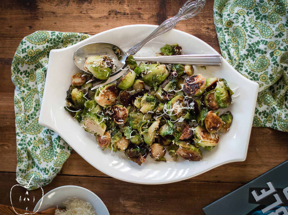 The Vegetable Butcher Book Review + Pan-Roasted Brussel Sprouts with Brown Butter and Parmesan