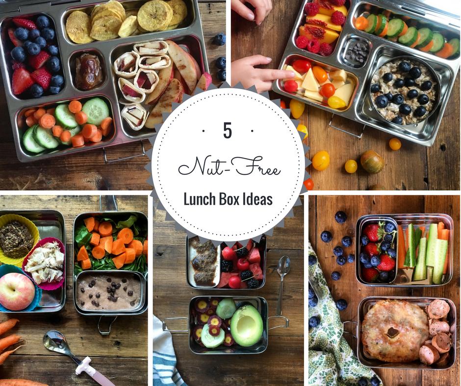 5 Nut-Free Lunch Box Ideas