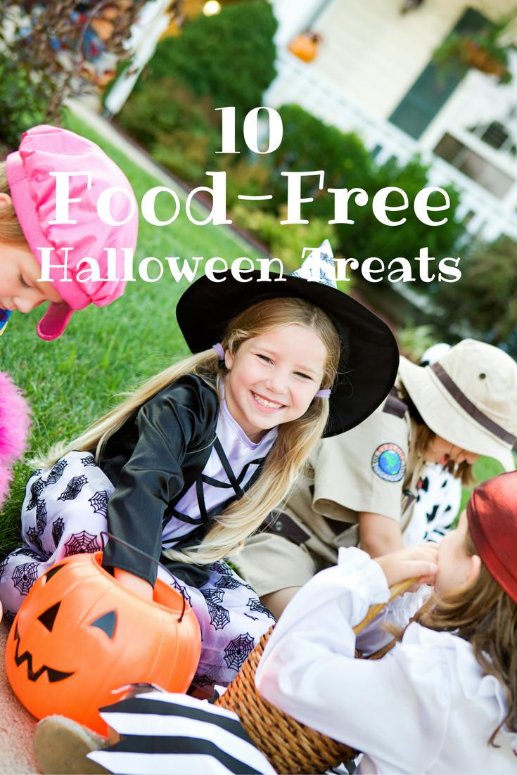 10 Food-Free Halloween Treats