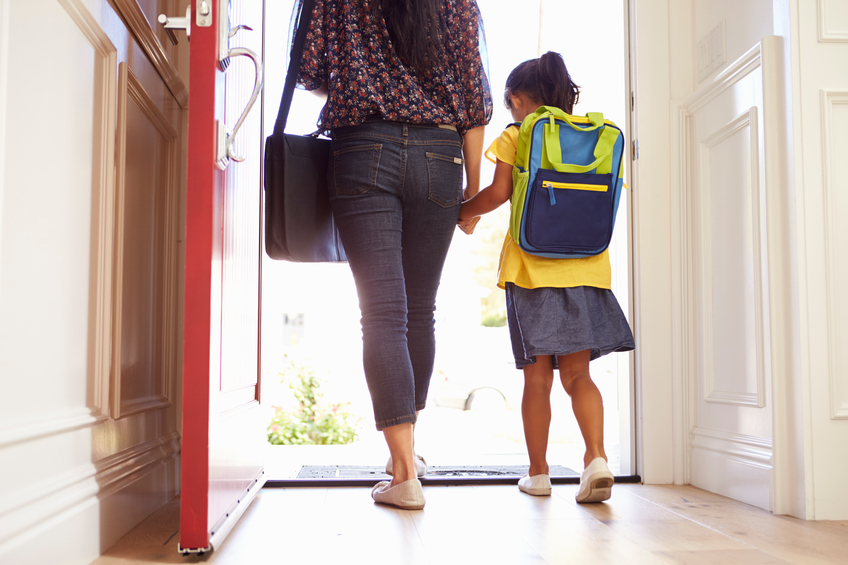 School Mornings: Tips For Getting Out The Door On Time