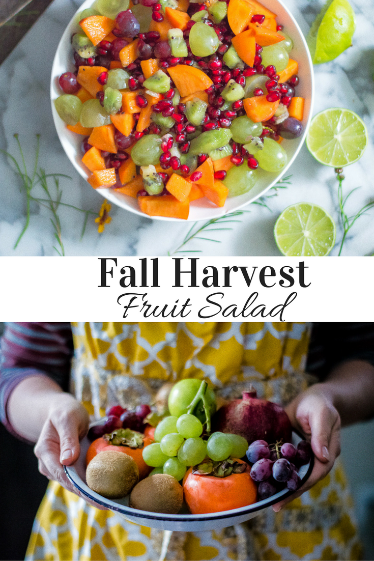 Fall Harvest Fruit Salad