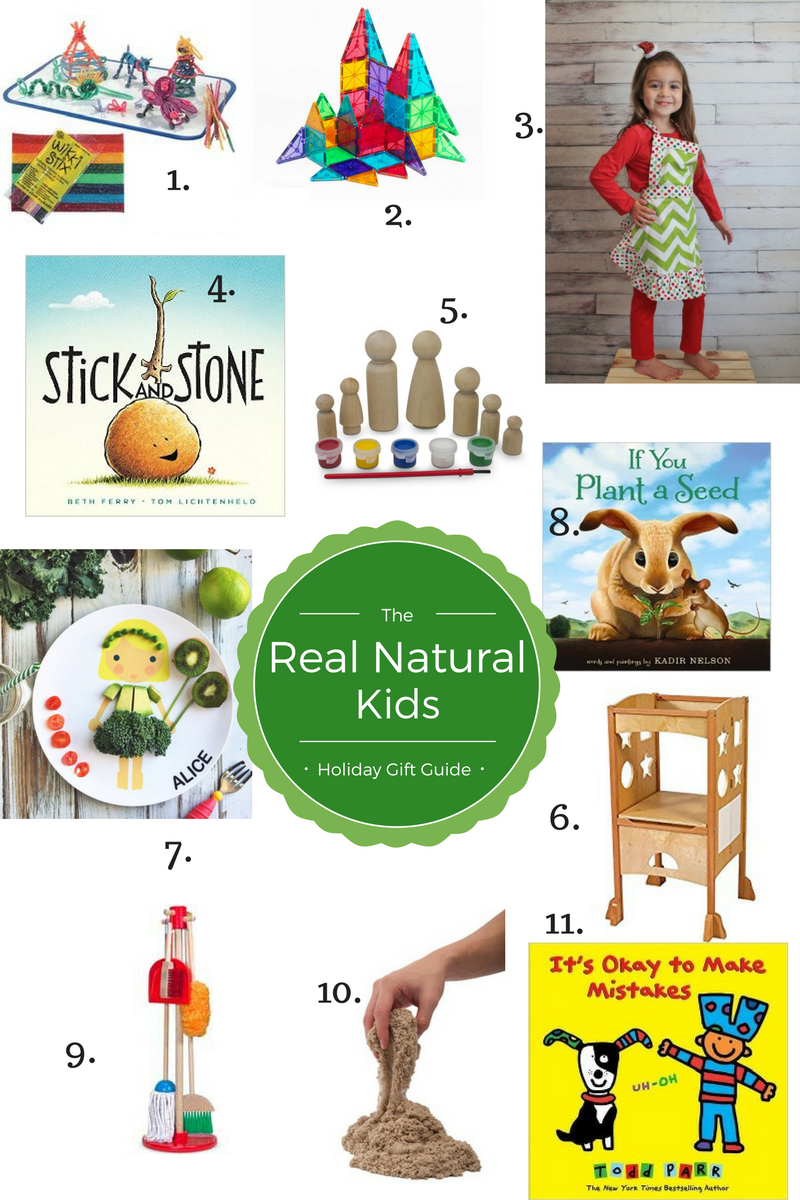 Holiday Gift Guide: For The Real Natural Kid