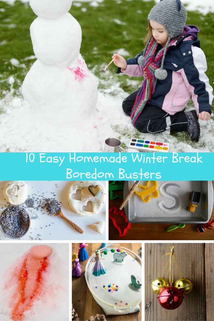 10 Easy Homemade Winter Break Boredom Busters