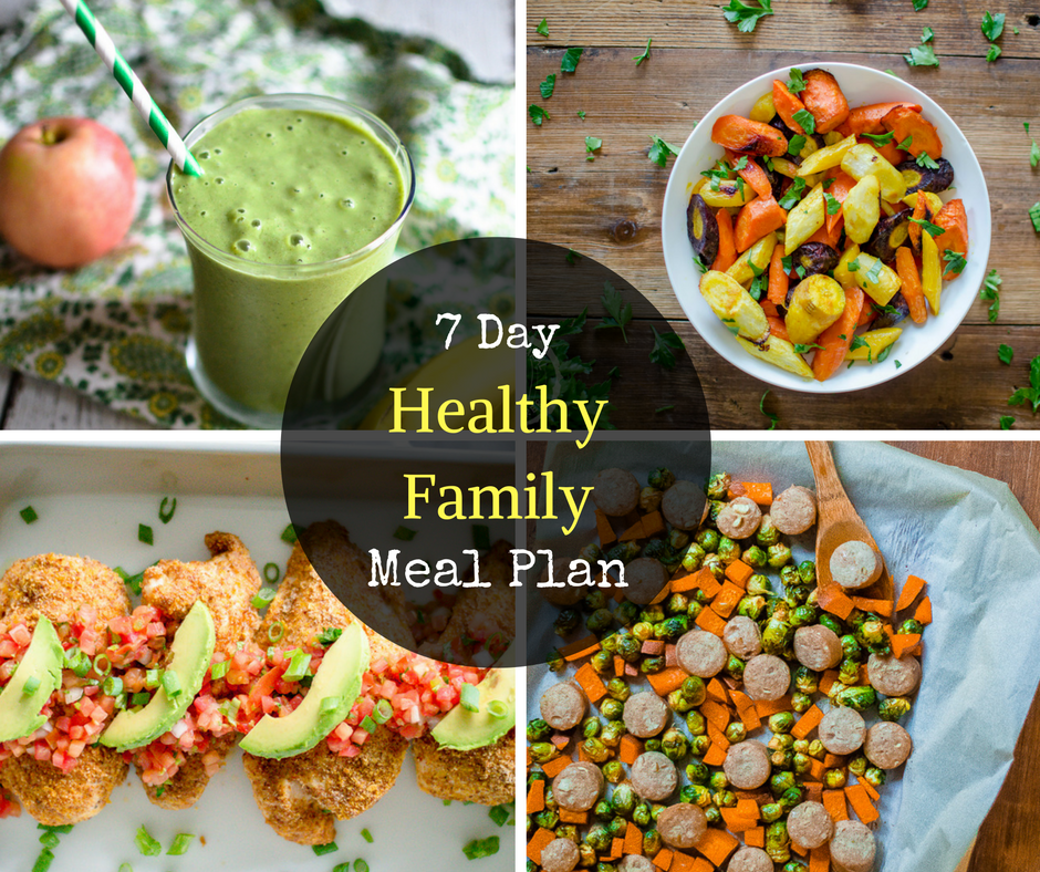 7 Day Healthy Family Meal Plan