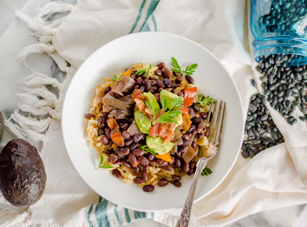 I'm not kidding when I say that these are the BEST slow cooker black beans! They are easy to throw together and get rave reviews from everyone I have share them with. Plus, homemade beans are my favorite way to make a real food budget stretch. #healthyslowcooker #healthyblackbeans #crockpotblackbeans #easyblackbeanrecipe