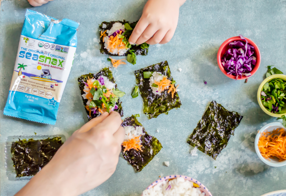 Teaching Children to Try New Foods: The Rice Roll Lesson