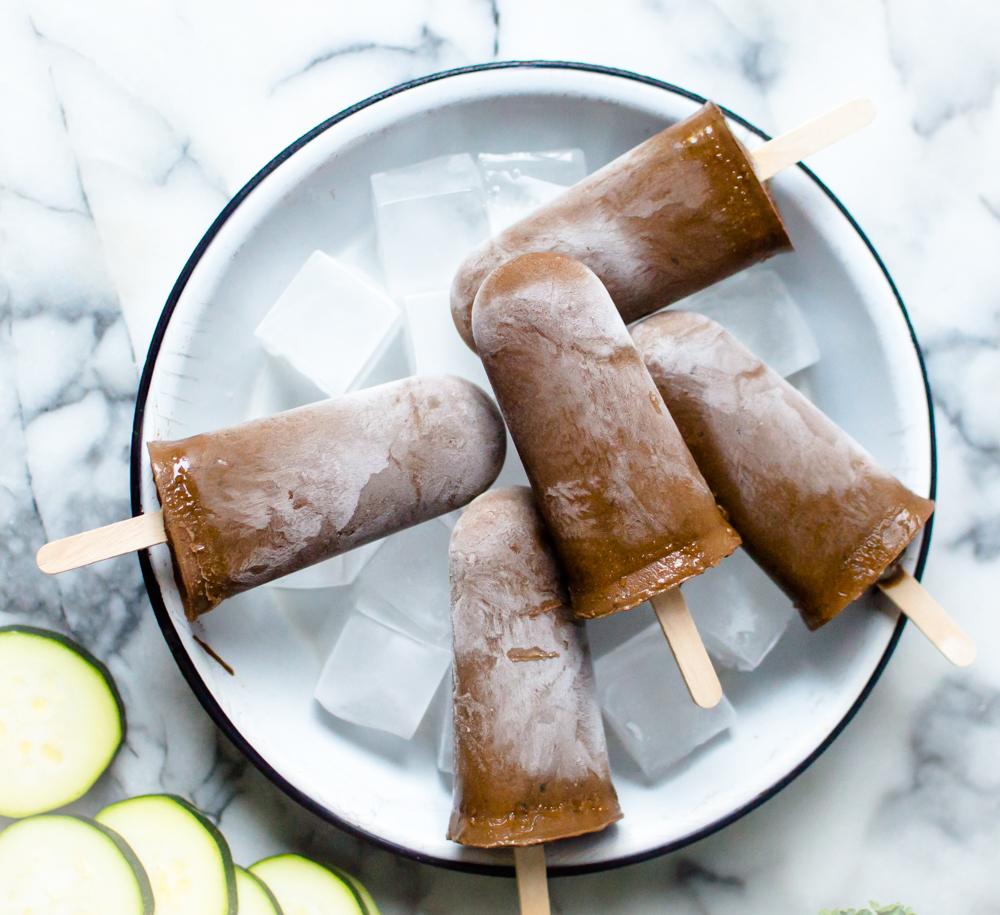 Super Healthy Fudge Pops (with hidden veggies!)