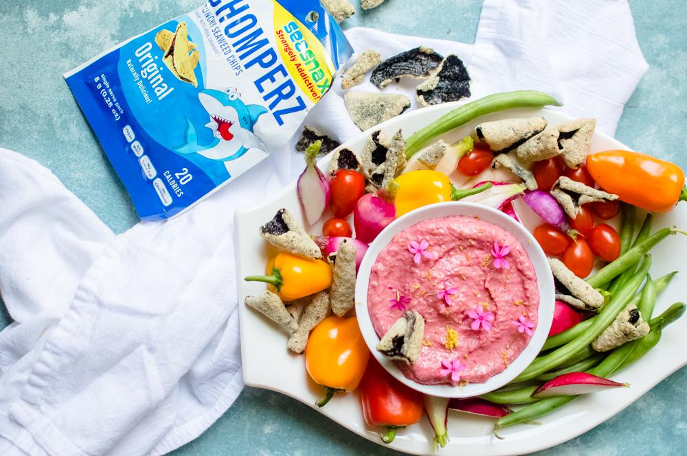 Pink-tastic Veggie Dip