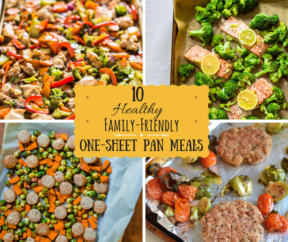 10 Healthy Family-Friendly One-Sheet Pan Meals