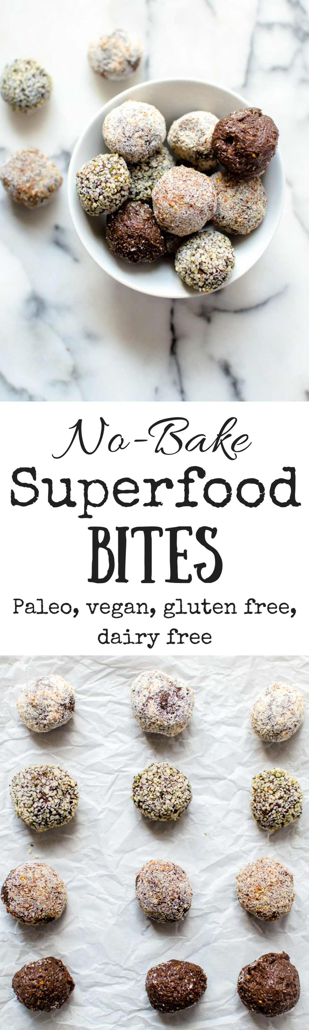 No-Bake Superfood Bites