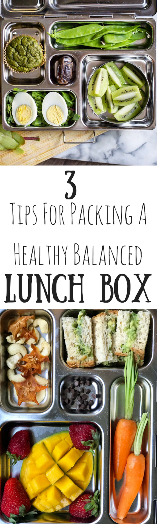 3 Tips For Packing A Healthy Balanced Lunch Box