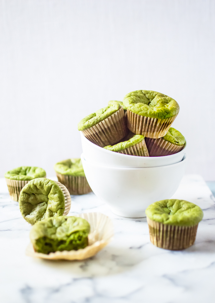 Paleo Green Smoothie Muffins