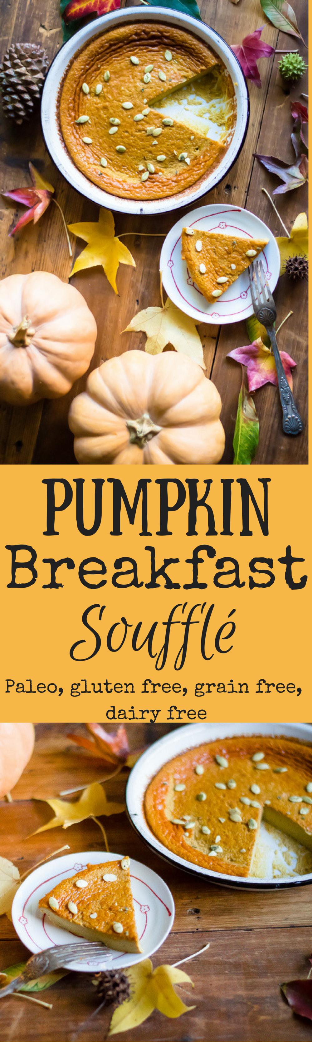 Pumpkin Breakfast Soufflé