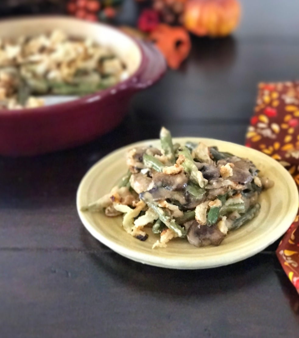 Paleo Green Bean Casserole