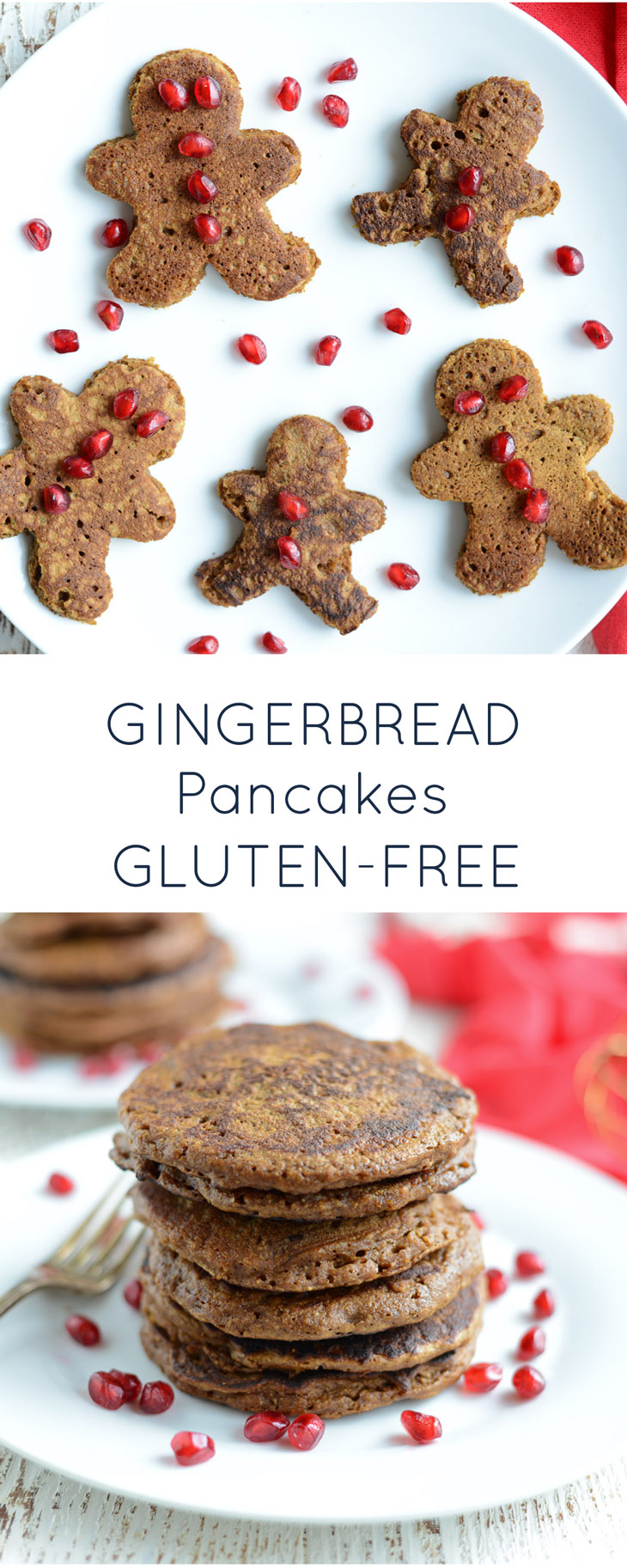 Gluten Free Gingerbread Pancakes {dairy-free, nut-free}