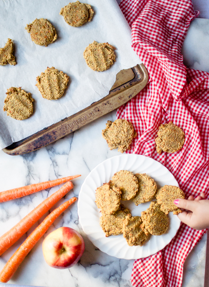 Grain-Free Carrot Apple Breakfast Cookies