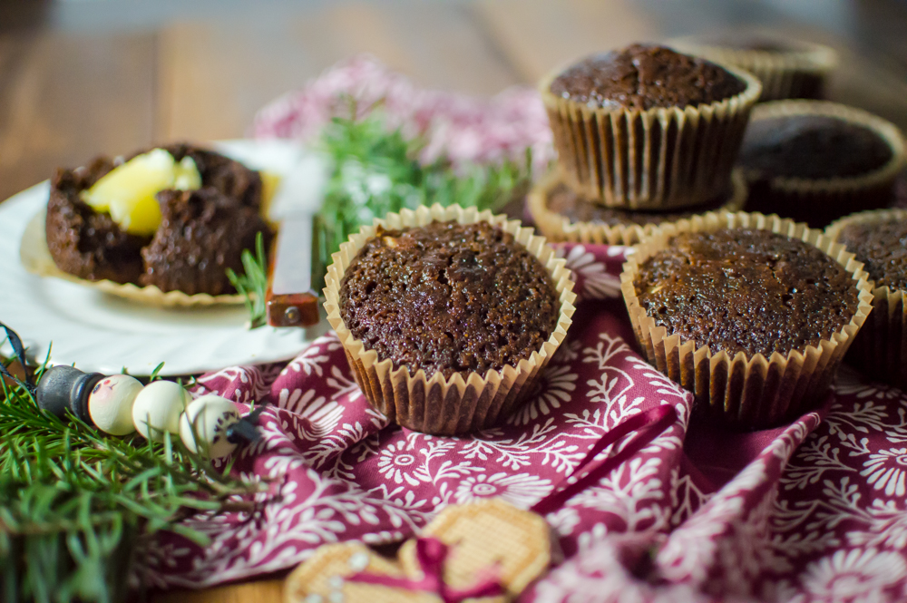 Grain-Free Gingerbread Muffins
