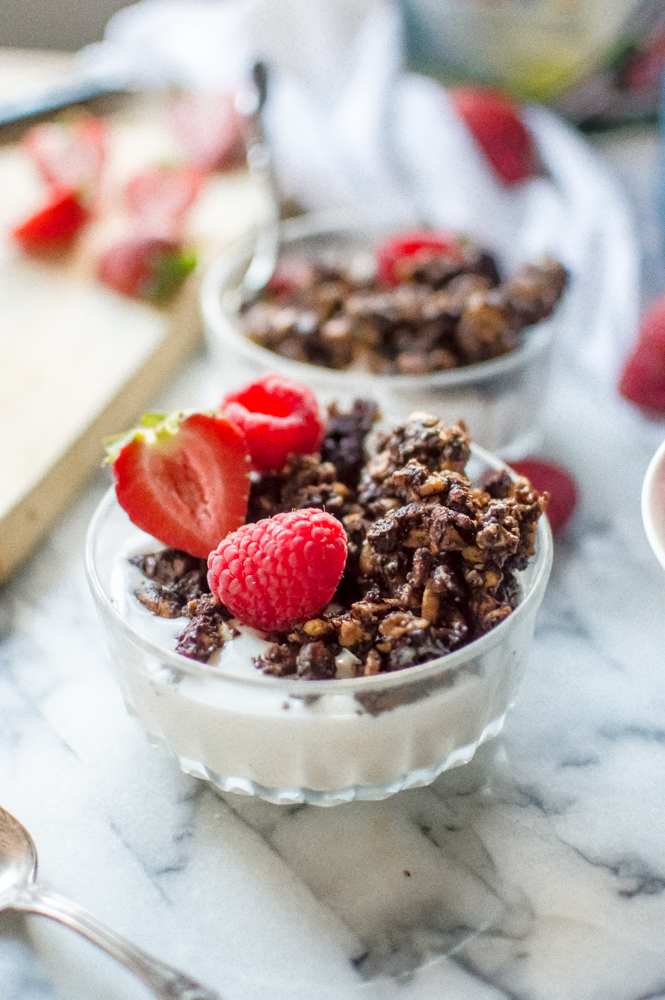 30-Minute Paleo Chocolate Granola