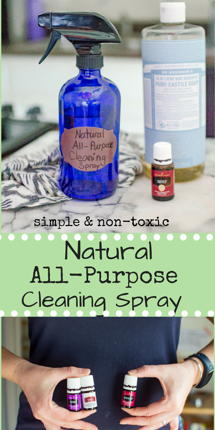 Natural All-Purpose Cleaning Spray