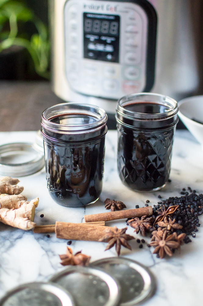 Elderberry syrup (5 of 8).jpgInstant Pot Elderberry Syrup (+ stovetop directions)