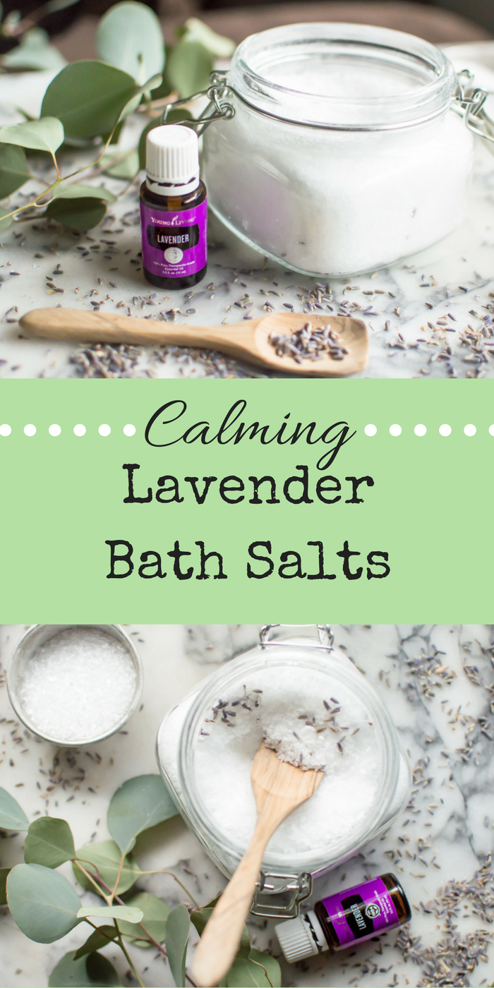 Calming Lavender Bath Salts