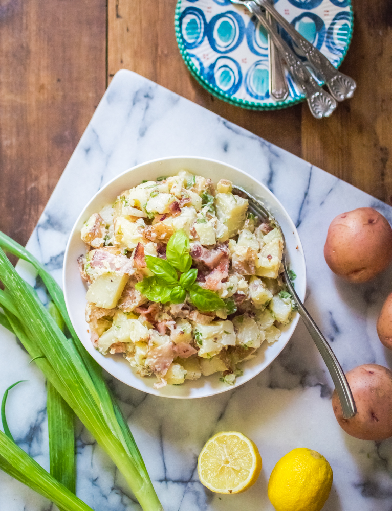 Bacon & Herb Potato Salad