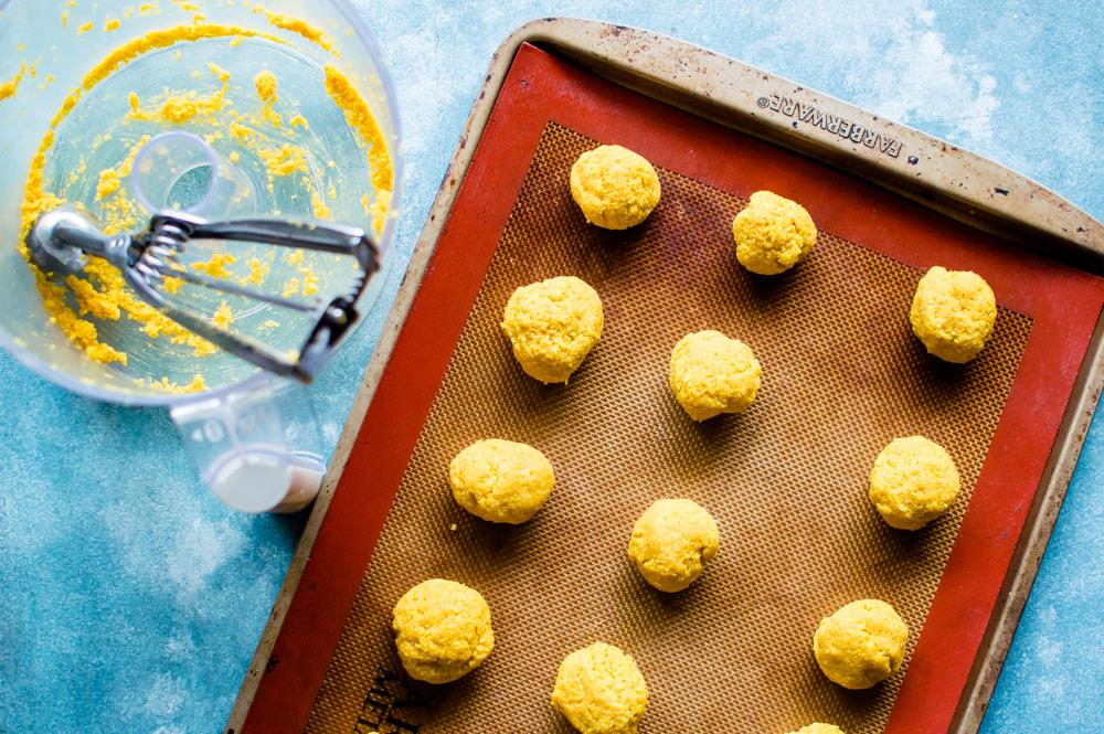Golden Sweet Potato & Coconut Macaroons