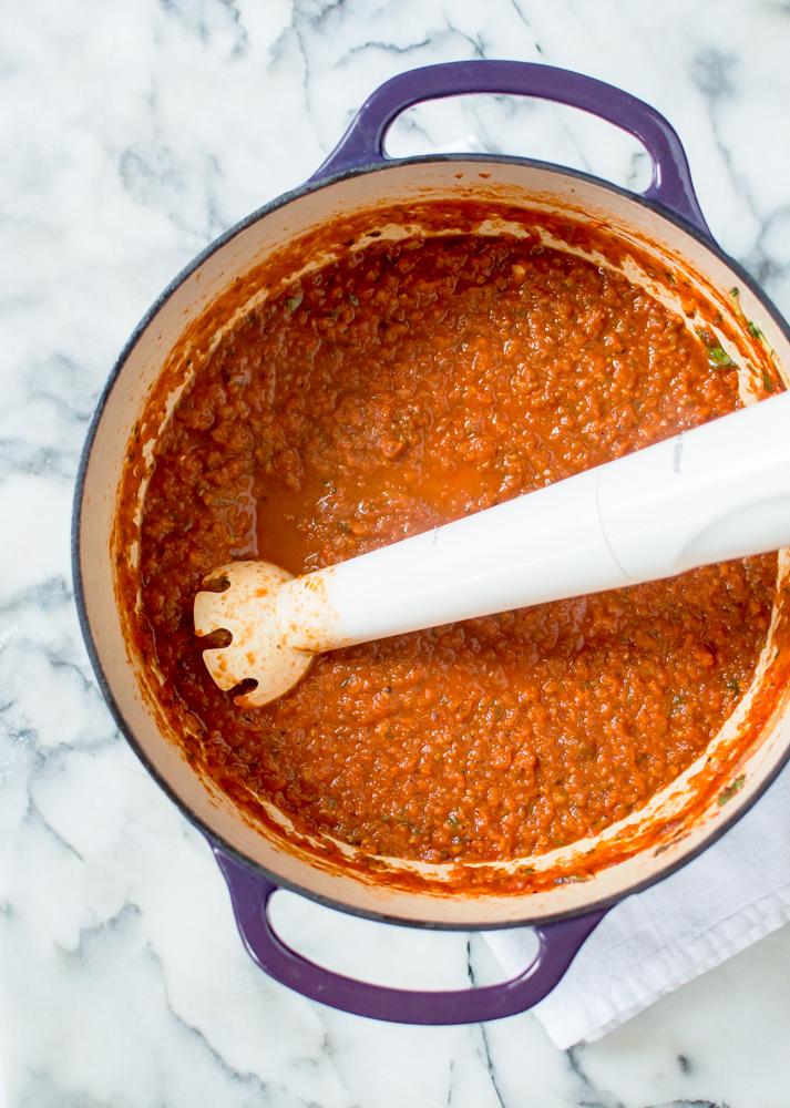 30-Minute Veggie-Loaded Tomato Sauce