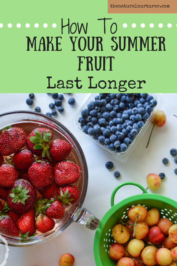 The trick to keeping your summer fruit fresh longer is so simple that you will be wishing you had this trick years ago!