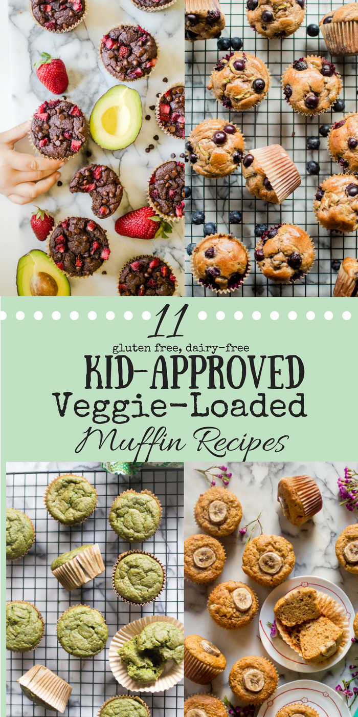 Veggies. We are all looking for creative and delicious ways to get more of them into our diets. And definitely ways to get more veggies into our kids' diets. Believe it or not, muffins are a great veggie vessel and are a favorite snack and/or breakfast of many kiddos! They are often easy to whip up, simple to store, are perfectly portioned out for you and super handy to have for those (inevitable) mornings when a grab-and-go breakfast is needed! #glutenfreemuffins #veggieloaded #veggieloadedmuffins #healthykids #veggiesforbreakfast