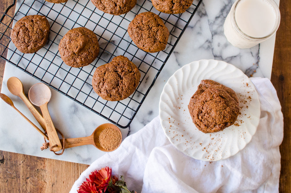 Possibly the easiest cookies you can whip up when a craving hits, Pumpkin Almond Butter Cookies are going to be your new fall jam! Made from 7 squeaky clean ingredients and whipped up in one bowl, these delicious beauties are totally Paleo, dairy-free, gluten free and naturally sweetened. #paleocookies #paleopumpking #glutenfreecookies #dairyfreecookies #grainfreecookies #healthycookies #pumpkincookies #onebowlcookies #thenaturalnurturer #thenaturalnurturerrecipes #paleobaking