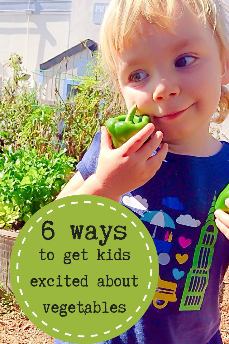 Getting kids interested in eating vegetables goes so far beyond just putting them on the dinner plate. It takes doing some out of the box things away from the dinner table to help them to see veggies in a whole new way.  #healthykids #howtogetkidstoeatvegetables #healthyfamily #realfood #raisinghealthyeaters