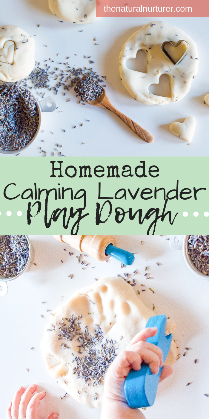 Homemade play dough is quite easy to make, much more cost efficient then buying the pre-made kind, and usually lasts longer when stored properly! Plus, with the addition of a little lavender aroma therapy, it can be an engaging and calming activity for those days where you need a few extra minutes with your cup of coffee before you're ready to adult. #homemadeplaydough #sensoryplay