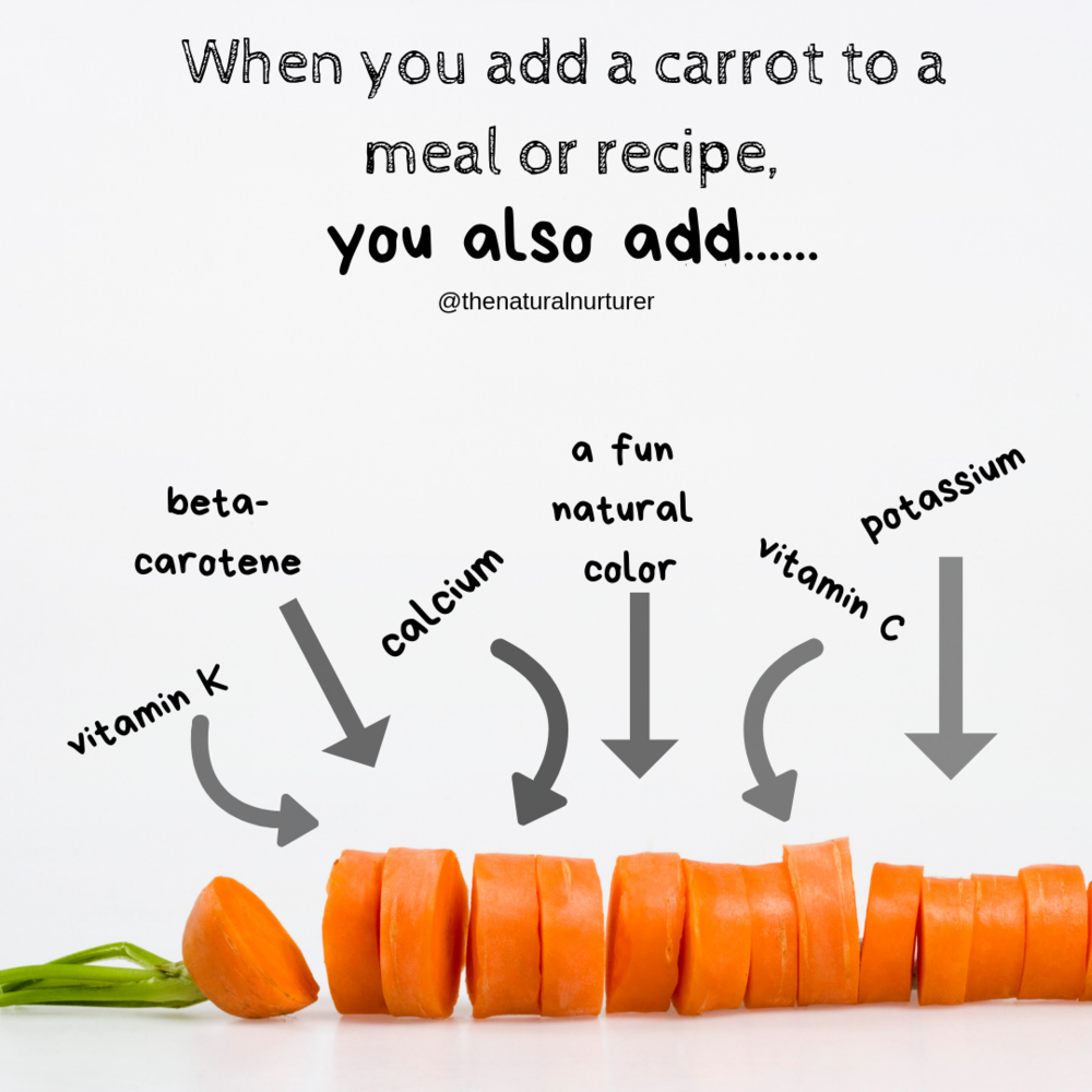 Adding carrots to a meal or recipe adds so much goodness with little extra effort! #veggieloaded #veggieloadedmovement