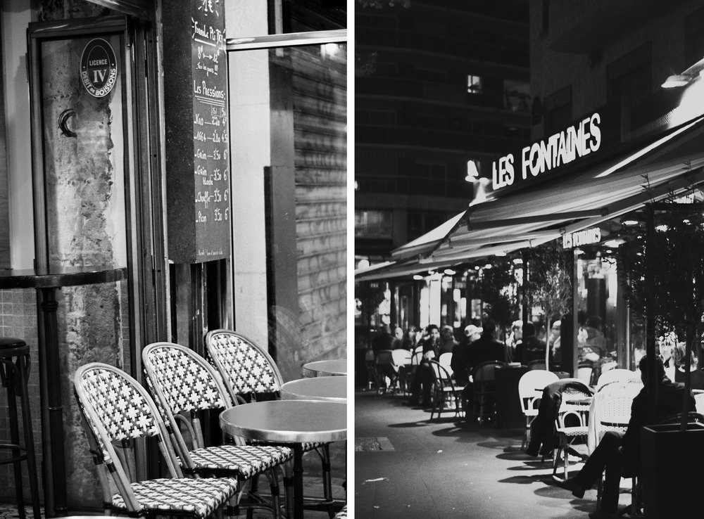 Night Cafe - Photo by Annie Mertlich