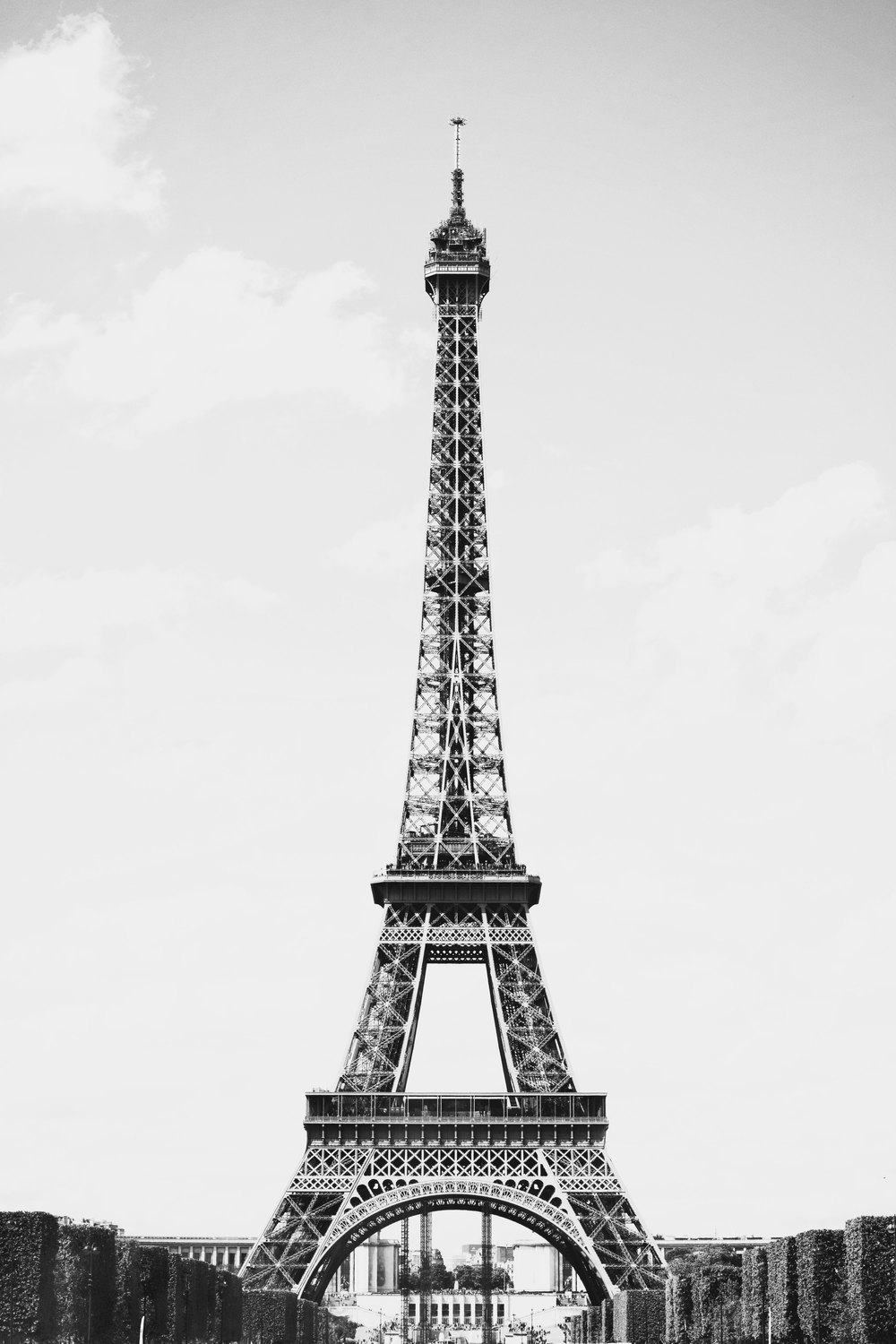 Eiffel Tower - Photo by Annie Mertlich