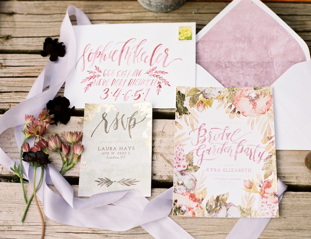 Bridal Shower Invitation - Wildfield Paper Co.