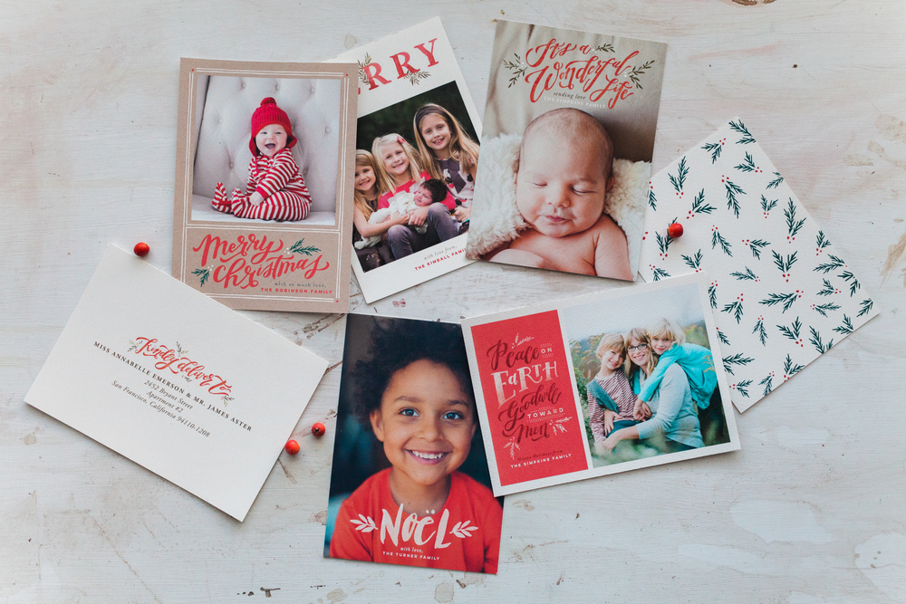 Wildfield Paper Co. - MINTED CHRISTMAS CARDS - 2015