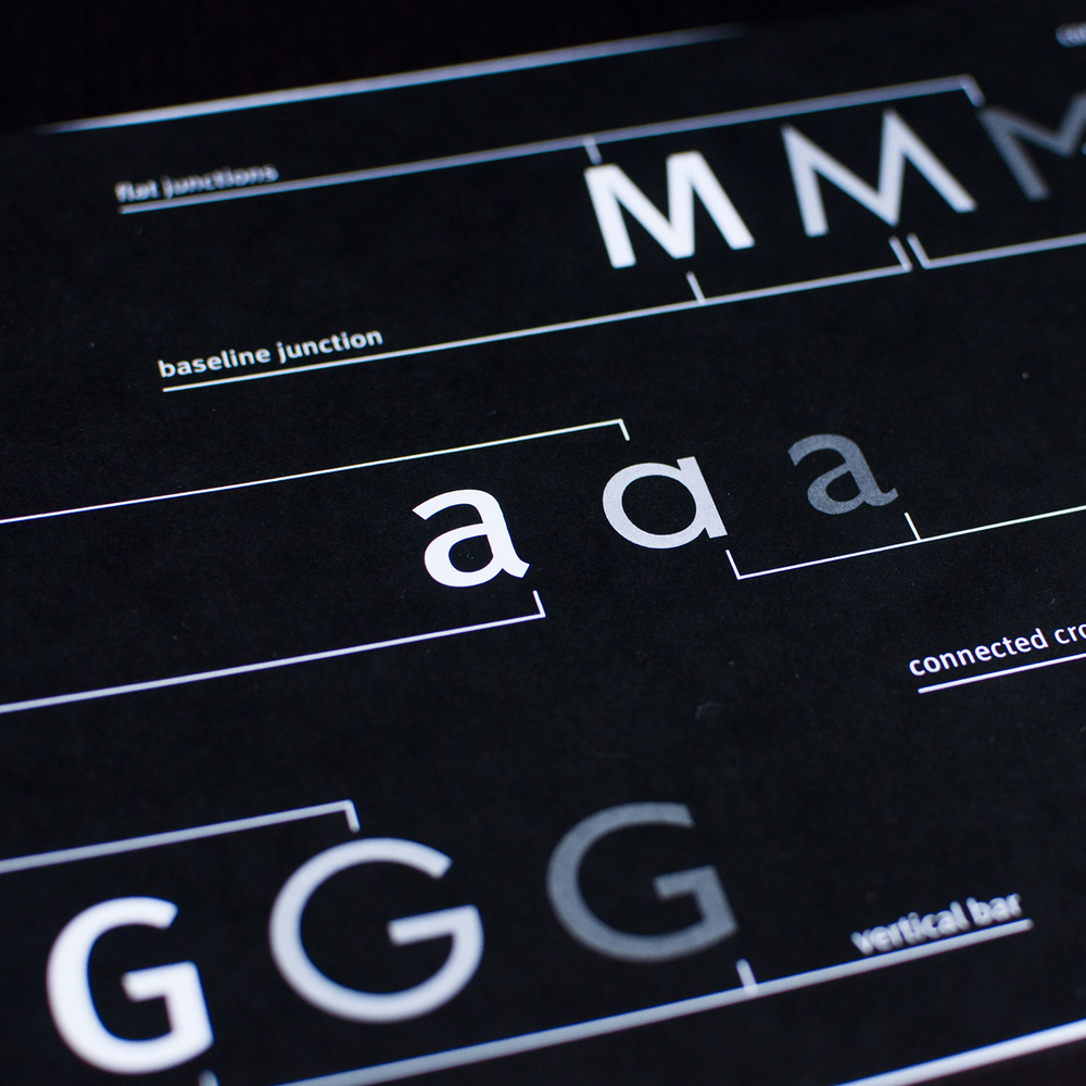 typography, information design