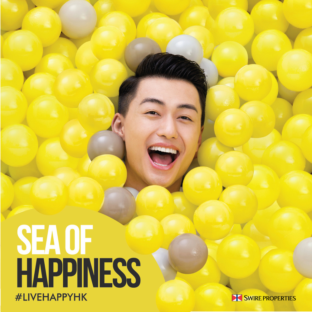 city plaza live happy ball pit print ad