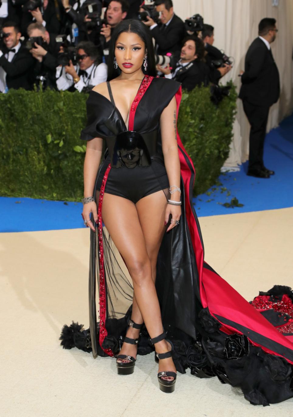 Nicki Minaj in custom H&M